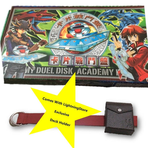 On Sale!!! LightningStore Yugioh Duel Disk + Deck Holder Belt Bundle - With Box - Cheap - Special Price Just for Fans