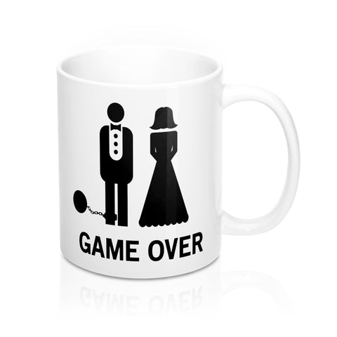 Limited Edition Game Over Mug For Newly Weds