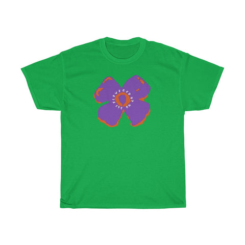 Purple Flower Shirt