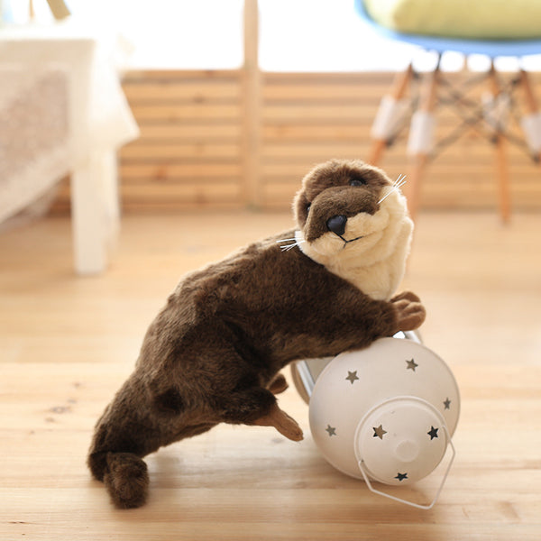 LightningStore Adorable Cute Beaver Otter Meerkat Doll Realistic Looking Stuffed Animal Plush Toys Plushie Children's Gifts Animals