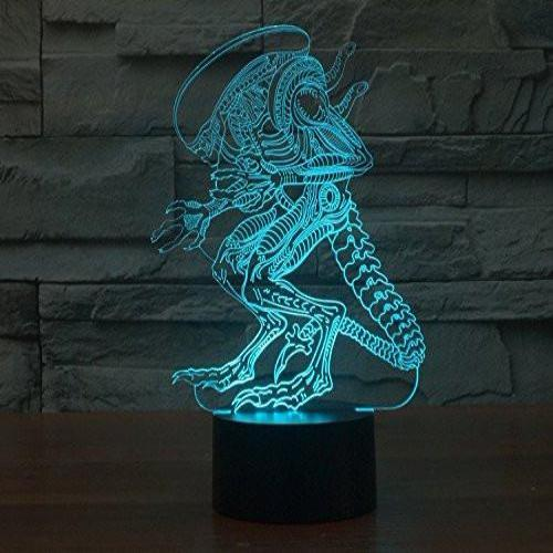 Baby Product - Alien Hologram LED Night Light Lamp - Color Changing