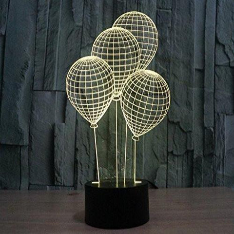 Baby Product - Balloon Hologram LED Night Light Lamp - Color Changing