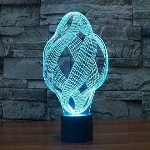 Baby Product - Infinity Plus Hologram LED Night Light Lamp - Color Changing