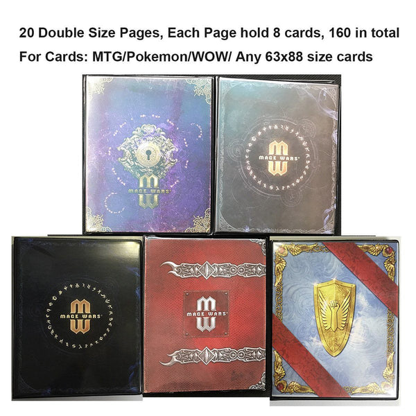 Card Album For MTG/YU-GI-OH/POKEMON/FOW - On Sale Now!