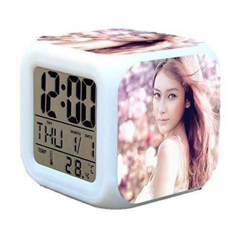 CE - LightningStore Customizable LED Alarm Clock - You Can Submit Your Own Design And We Will Make It For You - The Perfect Gift For Own Use Or To Give To Frinds
