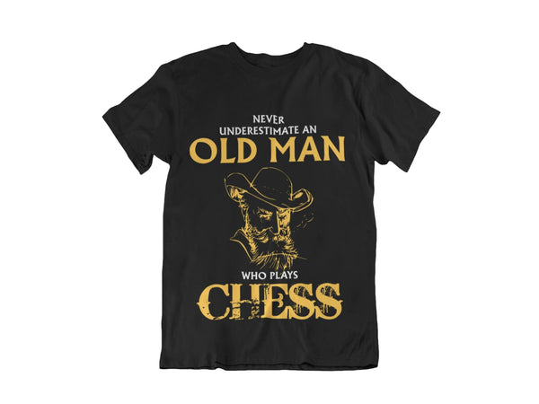 Limited Edition Old Man Chess T-Shirt