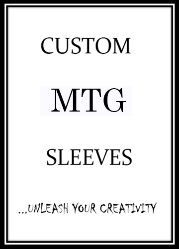 Custom MTG Card Sleeves - Card Sleeves For Magic The Gathering - On Sale Now!