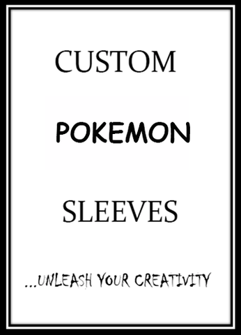 Custom Pokemon Card Sleeves - On Sale Now!