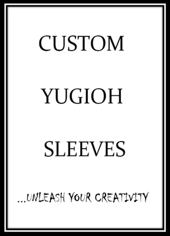 Custom Yugioh Card Sleeves - On Sale Now!