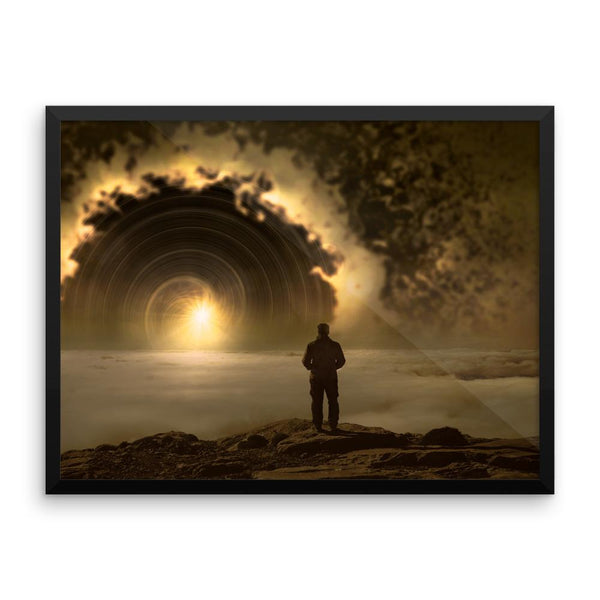 Fantasy Sunrise Wall Art Decoration Decor For Bedroom Living Room