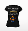 Boxing T-Shirt for Girls - Limited Edition Anger Issues Design