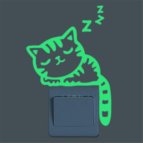 Glow In The Dark Animal Stickers - Many Styles To Choose From - Decorate Your Room With These Cute Stickers