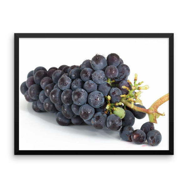Grapes Framed Photo Poster Wall Art Decoration Decor For Bedroom Living Room