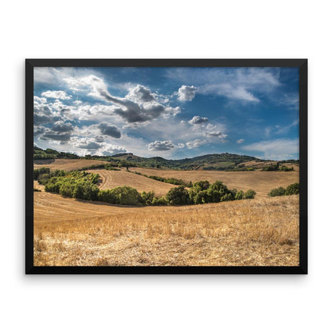 Grassland Framed Photo Poster Wall Art Decoration Decor For Bedroom Living Room