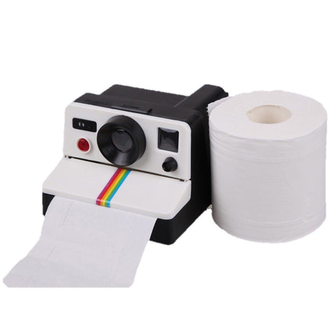 Home - LightningStore Cute Fashion Polaroid Camera Square Tissue Box Napkin Paper Towel Cover Holder Container Protector Case Outside Exterior Decoration Decor