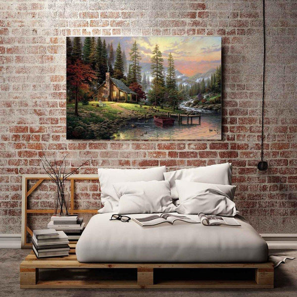 Home - LightningStore Huge Big Large Wilderness Cottage Wall Decor Decoration - Time For A Change? - What Better Way To Reinvigorate Your House Than To Redecorate It - An Excellent Addition To Any Home