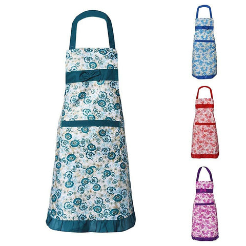 Home - LightningStore Women Restaurant Bib Cooking Pockets Apron Of Household Cleaning Tools