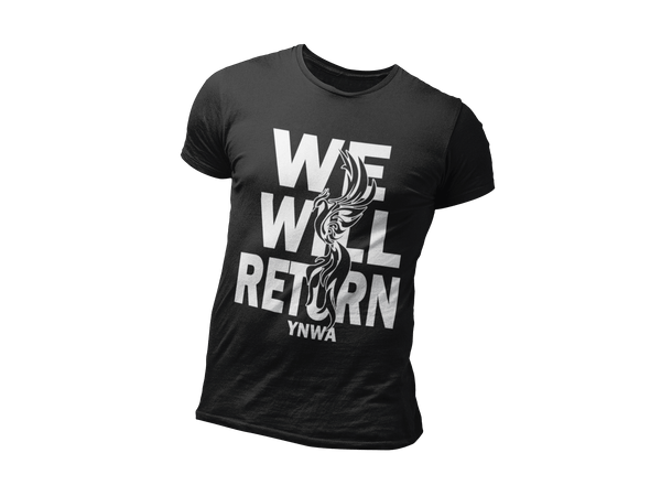 We Will Return - Limited Edition T-Shirt For Liverpool Fans