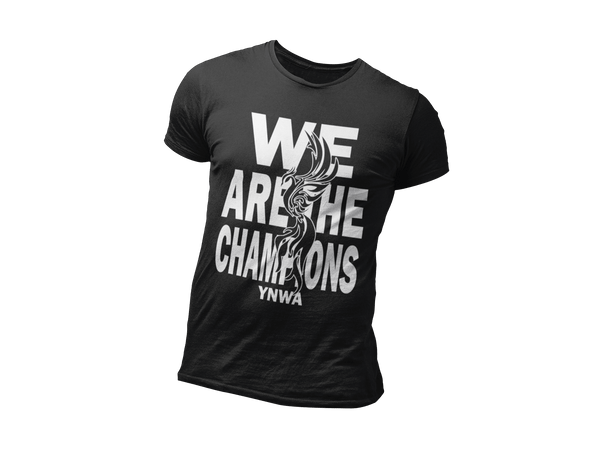 We Are The Champions - Limited Edition T-Shirt for Liverpool Fans