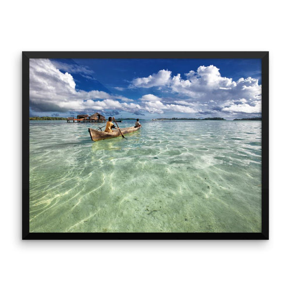 Kayaking Canoeing Framed Photo Poster Wall Art Decoration Decor For Bedroom Living Room
