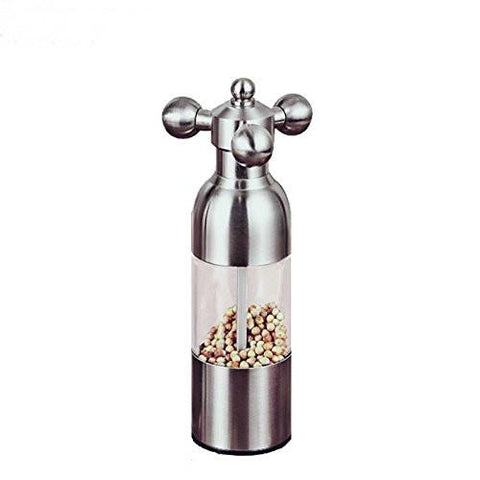 Kitchen - Stainless Steel Salt And Pepper Grinder Shaker Mill - 7 Inches - Must Have Item For All Households Kitchens And Restaurant