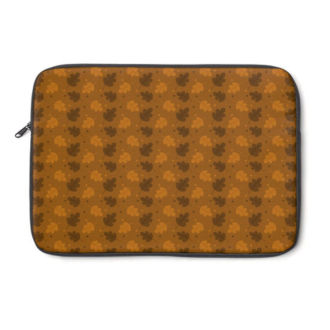 Laptop Sleeve - Cute Forest Leaf Pattern Laptop Sleeve