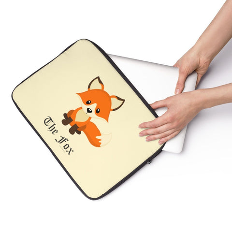 Laptop Sleeve - The Cute Adorable Red Fox Laptop Sleeve