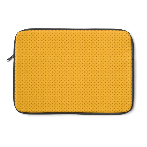 Laptop Sleeve - Yellow Polka Dot Laptop Sleeve