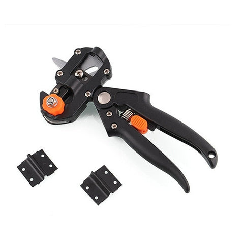Lawn & Patio - Fruit Tree Grafting Tool Gardening Shears Vaccination Secateurs Pruning Cutting Shears Farming Equipment Garden Tools +2 Blades