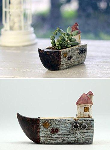 Creative Officewear Made Totally By Office Supply: LightningStore Cute Brown Grey Gray Ship Boat House
