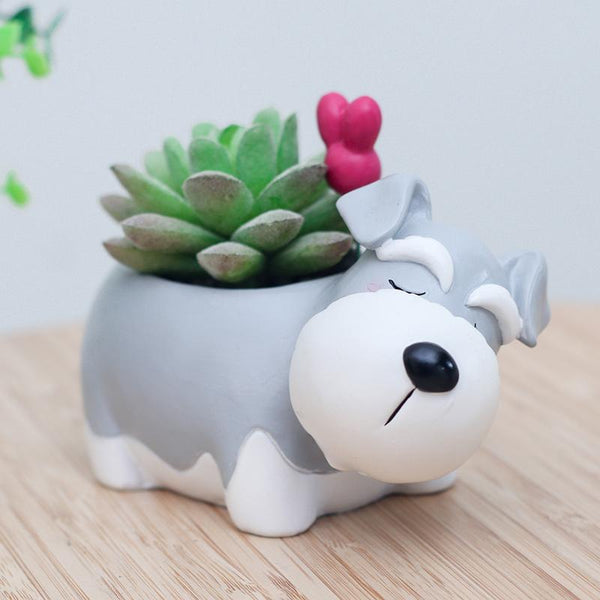 Limited Edition Schnauzer Flower Pot
