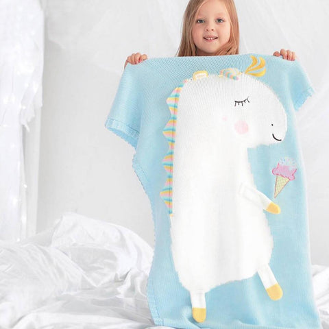 Limited Edition Unicorn Blanket For Kids - Worldwide Shipping
