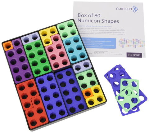 Numicon Shapes (Box Of 80) Worldwide Shipping