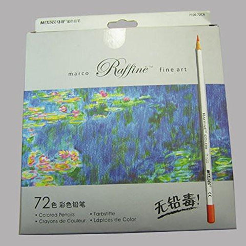 Office Product - Marco Colored Pencils- Colored Pencils 72 -Colored Pencils 72 Count- Colored Pencils Raffine- Colored Pencils In Bulk- Colored Pencils Classpack