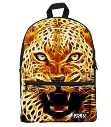 PC Accessory - LightningStore Cute Children Leopard Jaguar Cheetah School Bags Backpack Kindergarten Girls Boys Kid Backpack Cartoon Toys Fashion Animal Schoolbag Casual Kids Shoulder Book Bag Mochila Escolar
