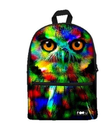 PC Accessory - LightningStore Cute Children Rainbow Owl School Bags Kindergarten Girls Boys Kid Backpack Cartoon Toys Fashion 3D Animal Schoolbag Casual Kids Shoulder Book Bag Mochila Escolar