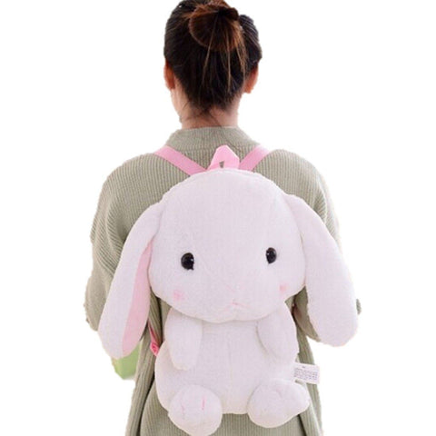 PC Accessory - LightningStore Cute Pink Rabbit Backpack School Bags Backpack Kindergarten Girls Boys Kid Cartoon Toys Fashion Animal Schoolbag Casual Kids Shoulder School Book Bag Mochila Escolar