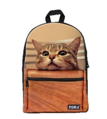 PC Accessory - LightningStore Super Cute Children Cat School Bags Kindergarten Girls Boys Kid Backpack Cartoon Toys Fashion 3D Animal Schoolbag Casual Kids Shoulder Book Bag Mochila Escolar