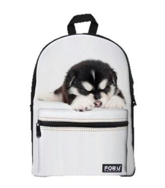 PC Accessory - LightningStore Super Cute Children Siberian Husky Puppy School Bags Kindergarten Girls Boys Kid Backpack Cartoon Toys Fashion 3D Animal Schoolbag Casual Kids Shoulder Book Bag Mochila Escolar