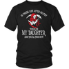 T-shirt - Is There Life After Death? - Touch My Daughter And Find Out T-Shirt