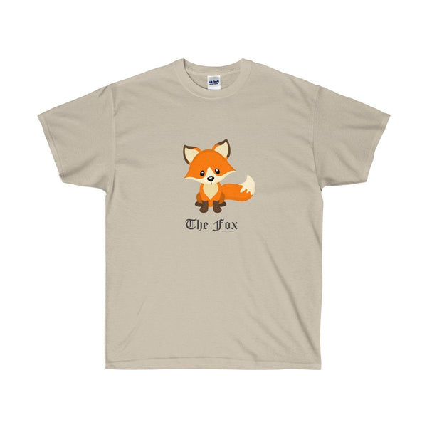 T-Shirt - The Cute Adorable Red Fox Ultra Cotton T-Shirt
