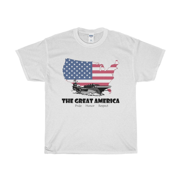 T-Shirt - The Great America Cotton T-Shirt