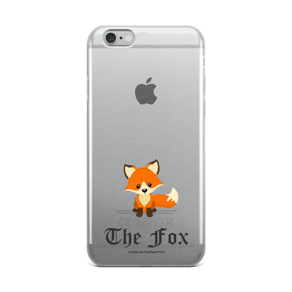 The Cute Adorable Red Fox IPhone Cases Transparent