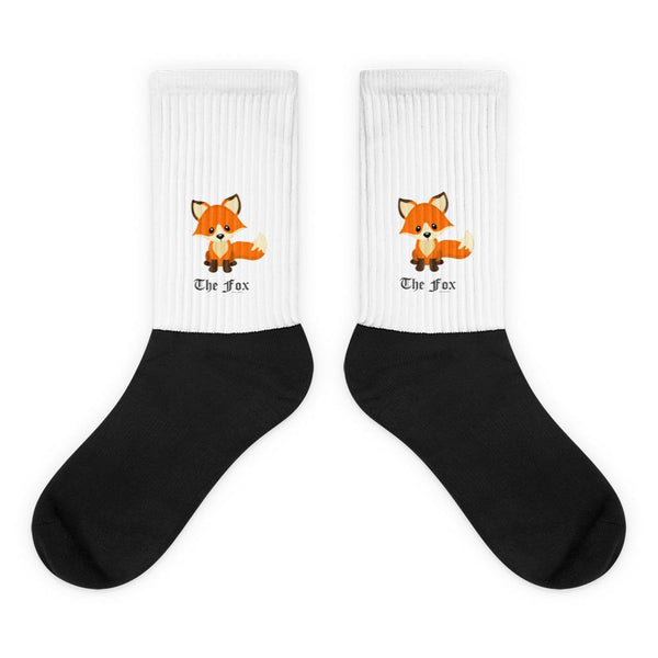 The Cute Adorable Red Fox Socks