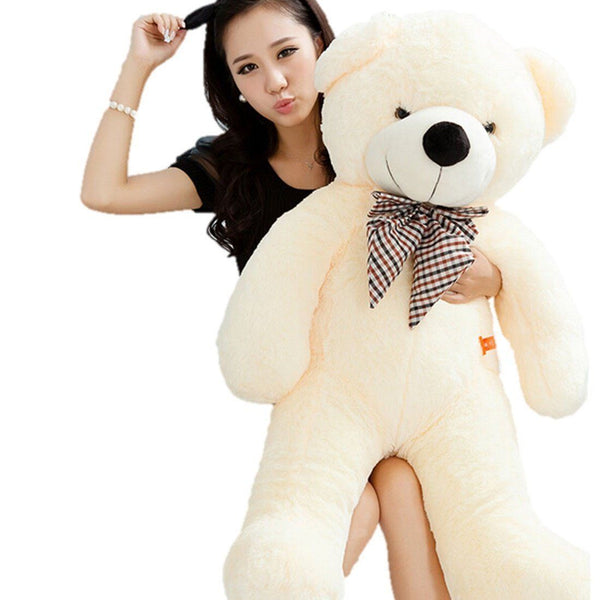 Toy - LightningStore 100CM Giant Teddy Bear Plush Toys Stuffed Ted Cheap Pirce Gifts For Kids Girlfriends Christmas
