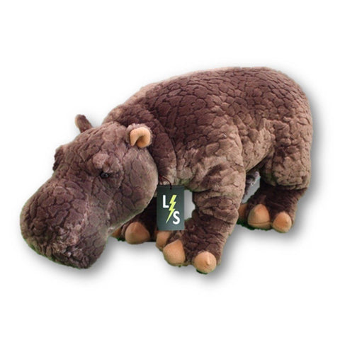 Toy - LightningStore Adorable Big Giant Large Hippo Stuffed Animal Doll Realistic Looking Plush Toys Plushie Children's Gifts Animals