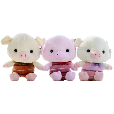 Toy - LightningStore Adorable Cute 3 Little Pigs Doll Realistic Looking Stuffed Animal Plush Toys Plushie Children's Gifts Animals