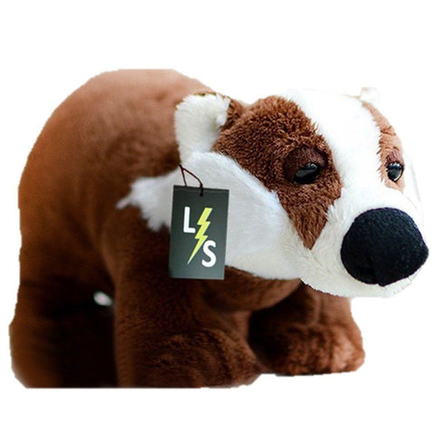 Toy - LightningStore Adorable Cute Baby Brown Badger Doll Realistic Looking Stuffed Animal Plush Toys Plushie Children's Gifts Animals
