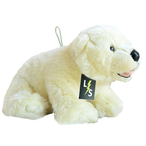 Toy - LightningStore Adorable Cute Baby Polar Bear Doll Realistic Looking Stuffed Animal Plush Toys Plushie Children's Gifts Animals