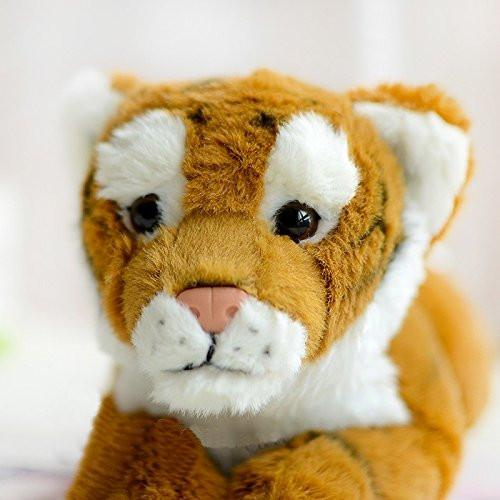 Lightningstore Adorable Cute Baby Tiger Cub Doll Realistic